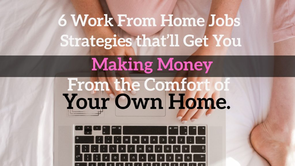Blogging for money. Work from home jobs.