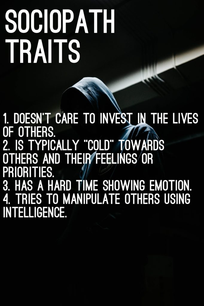 Is sociopath a of the what definition Narcissistic sociopath: